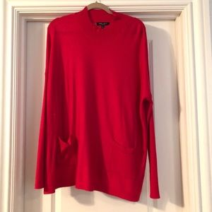 Romeo + Juliet Couture Long Hot Pink Sweater